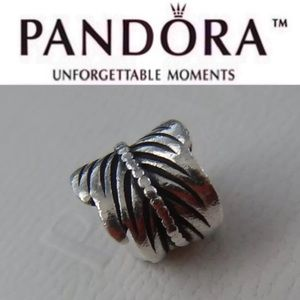 790581 Retired Pandora Feather Charm